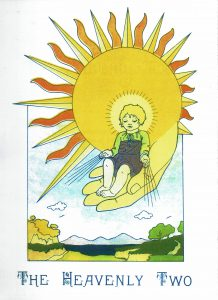 heavenly two children coloring book