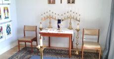 chapel altar tarot cards