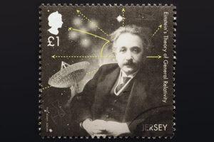 albert Einstein stamp