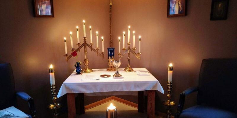 sunday communion service