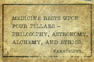 paracelsus medicine rests upon four pillars