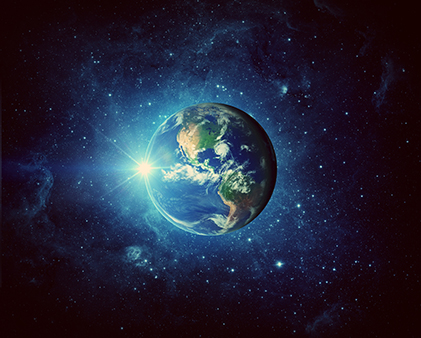 exercise to heal planet earth